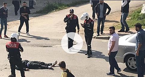 Aranan şahıs, polise ateş ederek kaçarken vurularak öldürüldü