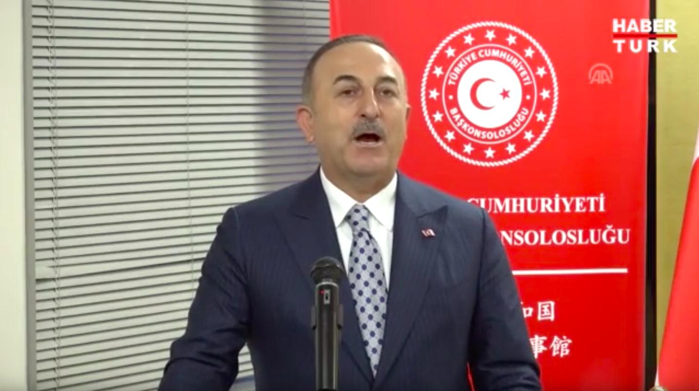 Çavuşoğlu, Türkiye'nin Nagoya Başkonsolosluğu binasının açılış törenine katıldı