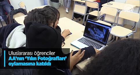 Uluslararası öğrenciler AA'nın 'Yılın Fotoğrafları' oylamasına katıldı