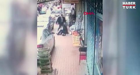 Sokak ortasındaki cinayet anları kamerada