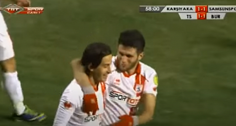 Karşıyaka 1-1 Samsunspor MUSA AYDIN