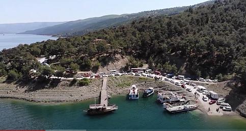 Samsun Vezirköprü Şahinkaya kanyonu