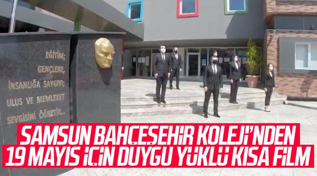 Samsun Bahçeşehir Koleji'nden duygulandıran 19 Mayıs videosu