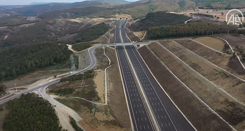 Kuzey Marmara Otoyolu 5. Kesimi açıldı