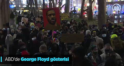 ABD'de George Floyd gösterisi