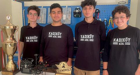 İmam Hatipli öğrenciler piyasanın en hızlı dronlarından birini yaptı